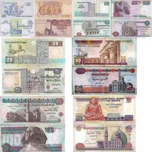 Валюта в Египте