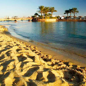 Песчаные пляжи Египта