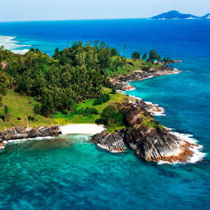Побережье Сейшельских островов